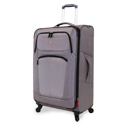 NeoLite Plus 29 in. Grey Spinner Suitcase