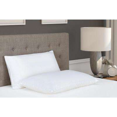 2 in 1 Memory Foam and Fiber King Pillow
