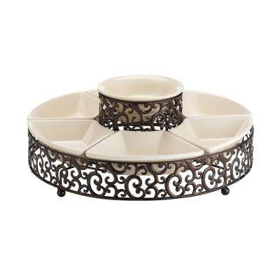 Danbury 7-Piece Chip and Dip