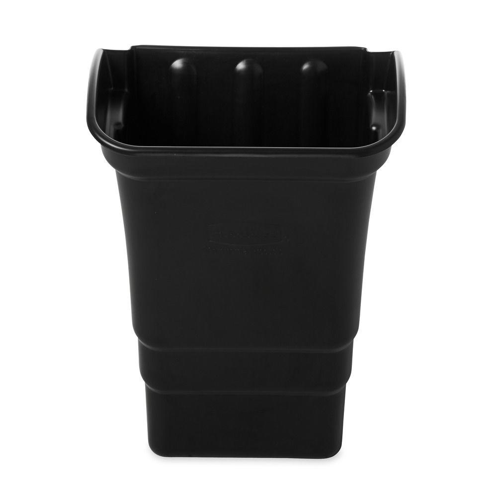 8 Gal. Black Trash Can