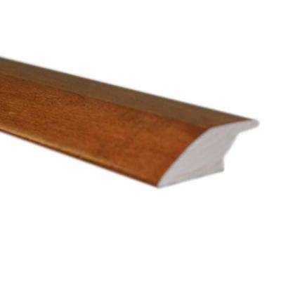 Oak Spice 3/8 in. Thick x 2-1/4 in. Wide x 78 in. Length Hardwood Lipover Reducer Molding