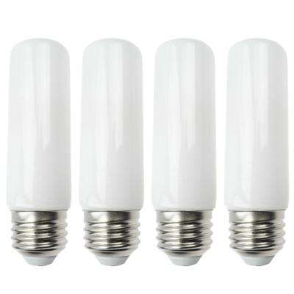 20-Watt Equivalent T10 LED Light Bulb, Warm White (4-Pack)