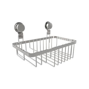 Lavish Home Hanging Wall Mounted Shower Caddy with Twist Lock Suction Cups in Stainless... by Lavish Home