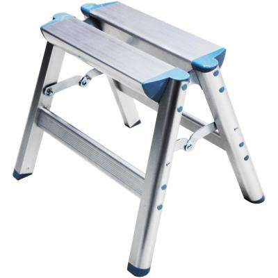 12 in. Aluminum Folding Step Stool OSHA Compliant