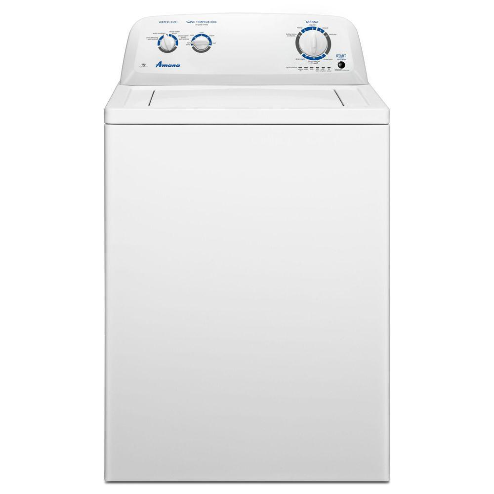 ca25564284 Amana 3.5 cu. ft. Top Load Washer in White-NTW4516FW - The Home Depot