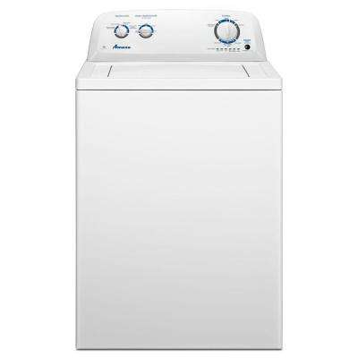 3.5 cu. ft. Top Load Washer in White