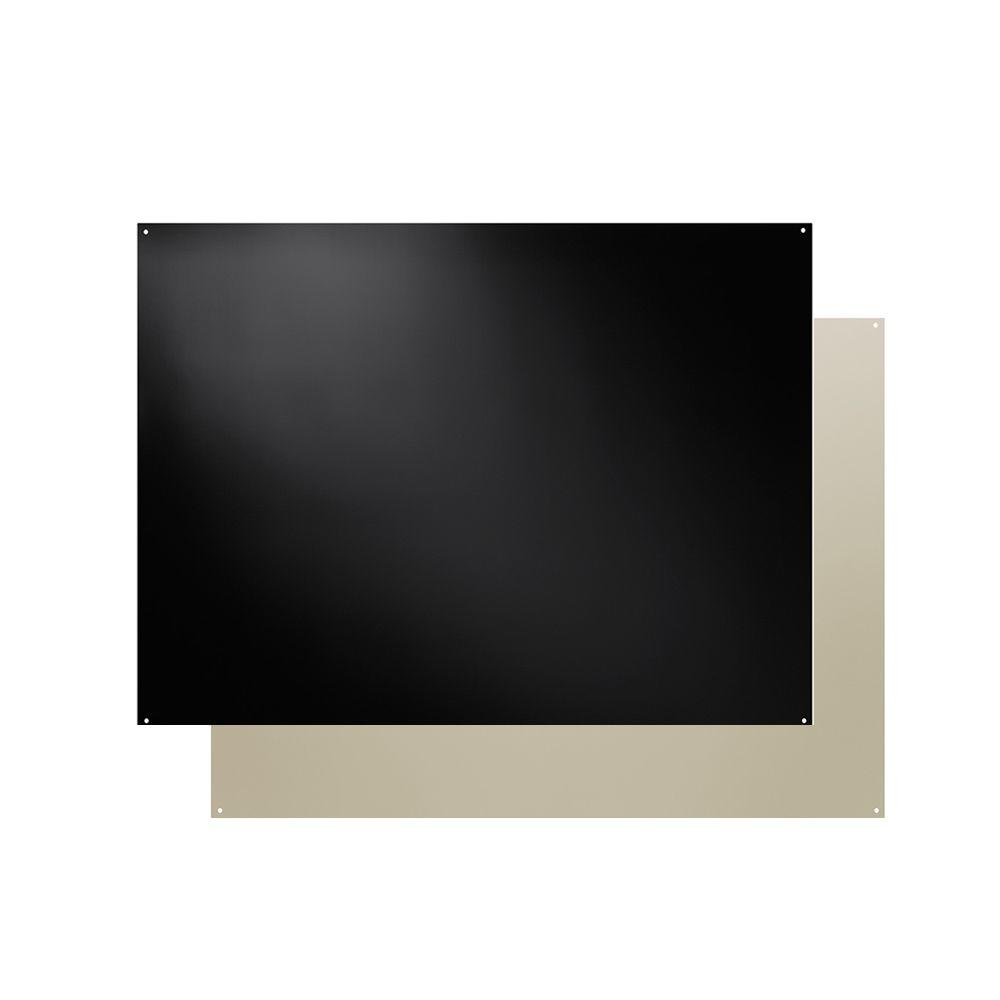 - Broan 30 In. X 24 In. Splash Plate For Range Hood In Bisque And