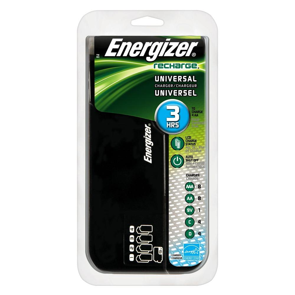 Energizer NiMH Rechargeable Family Battery Charger