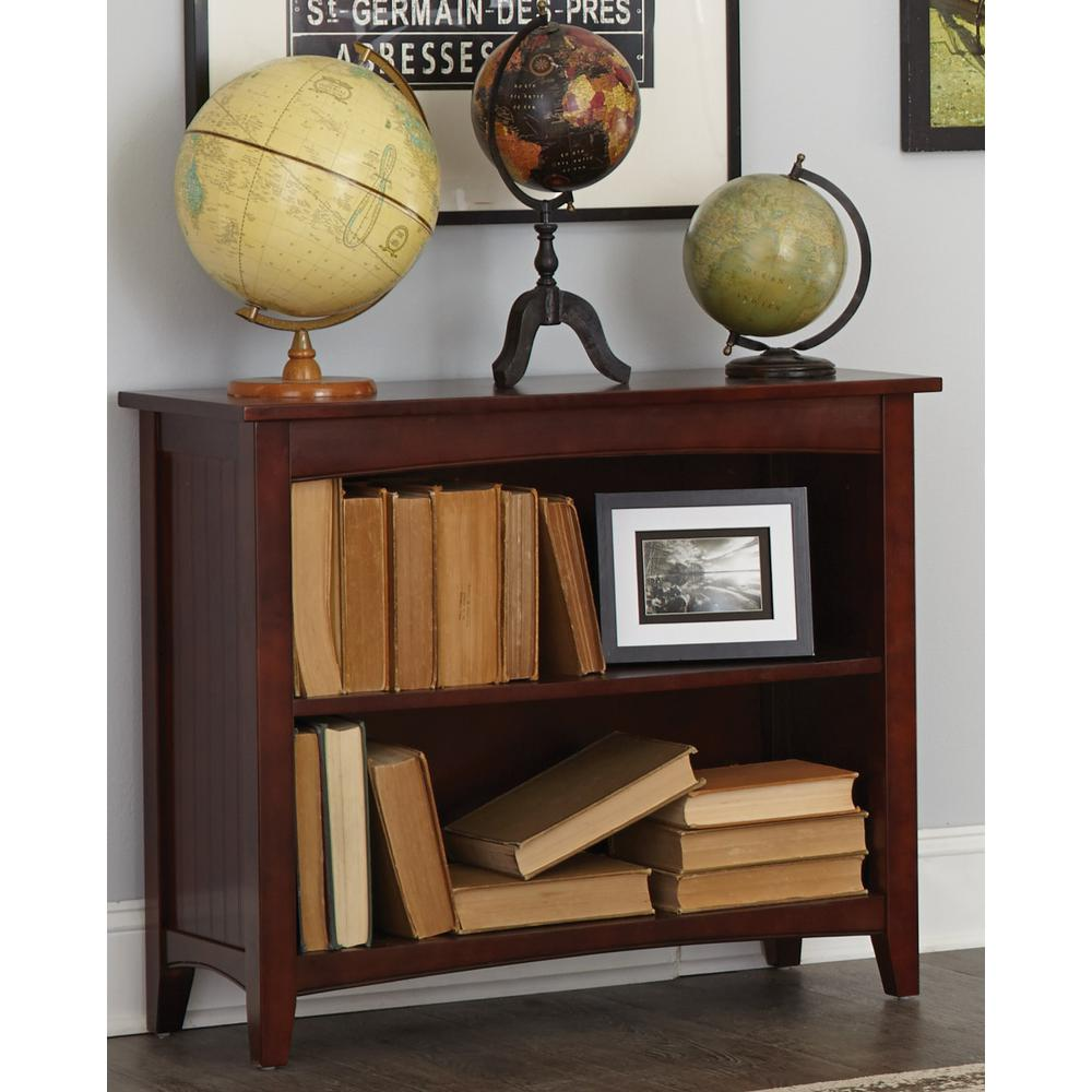 Shaker Cottage Espresso Open Bookcase