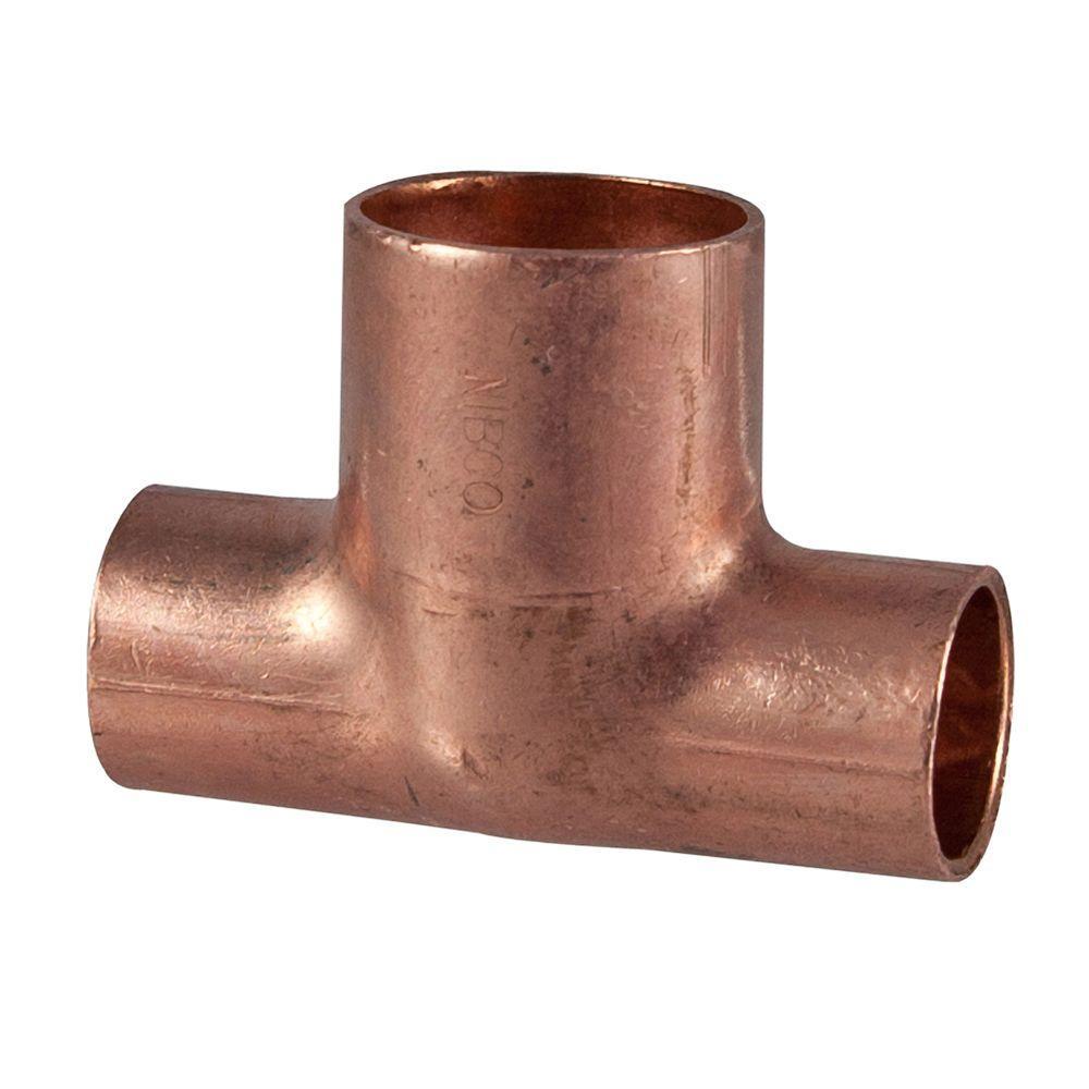 3/4 in. x 3/4 in. x 1 in. Copper Pressure Tee
