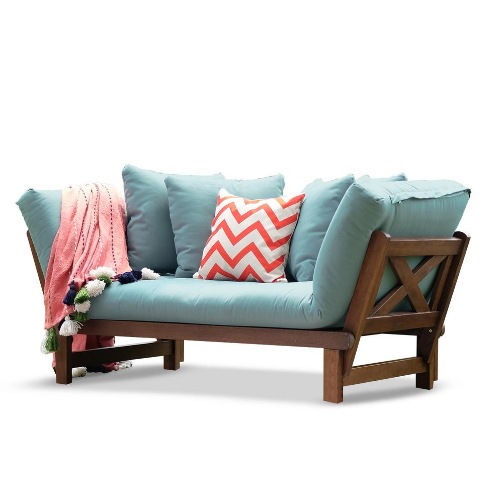 Cambridge Casual Tulle Natural Brown Wood Outdoor ...