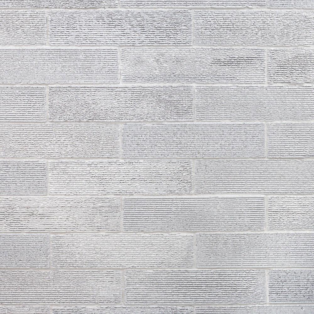 ivy hill tile weston ridge light gray 2 in  x 9 in  11mm glazed clay subway wall tile  33