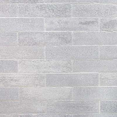 Weston Ridge Light Gray 2 in. x 9 in. 11mm Glazed Clay Subway Wall Tile (33-piece 5.64 sq. ft. / box)