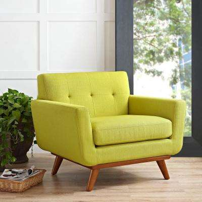 Green Mid Century Modern Accent Chairs Chairs The Home Depot