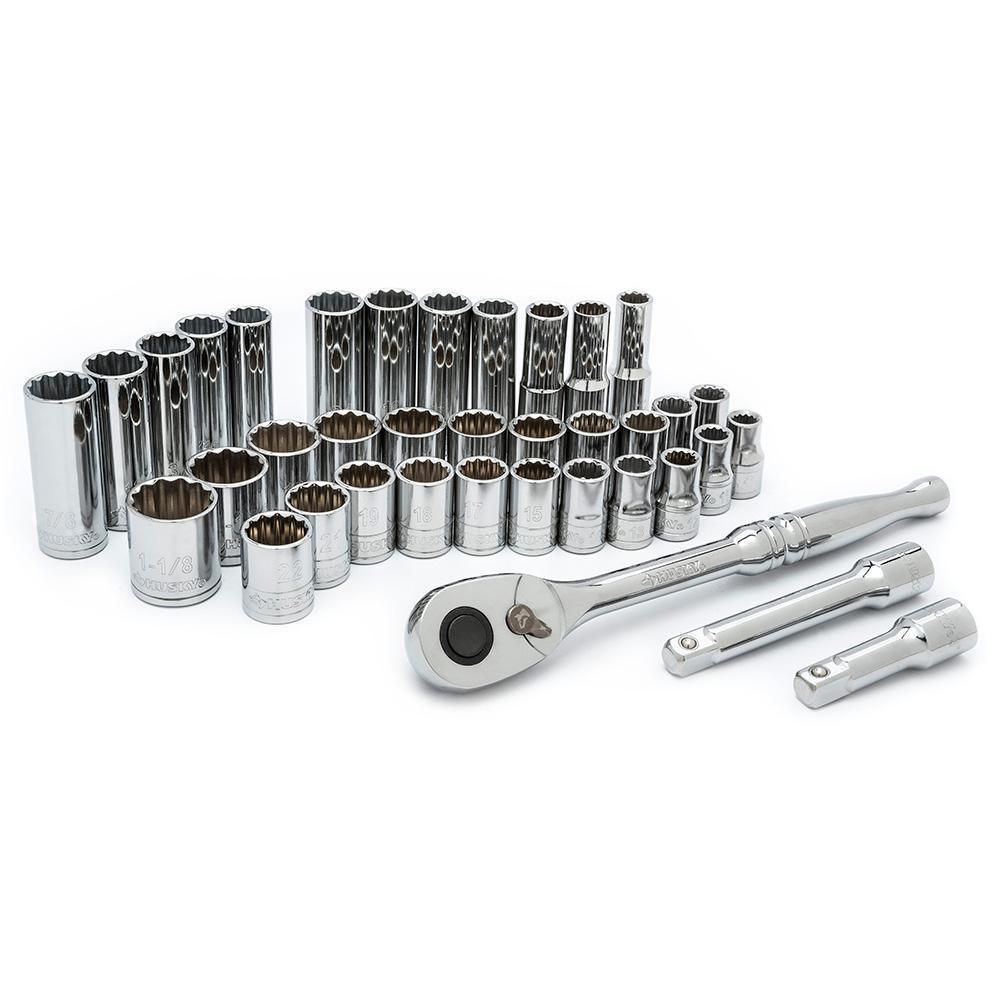 1/2 in. Drive Mechanics Tool Set (37-Piece)