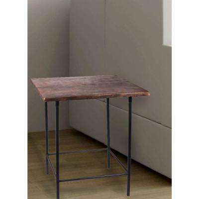 Williston Black End Table