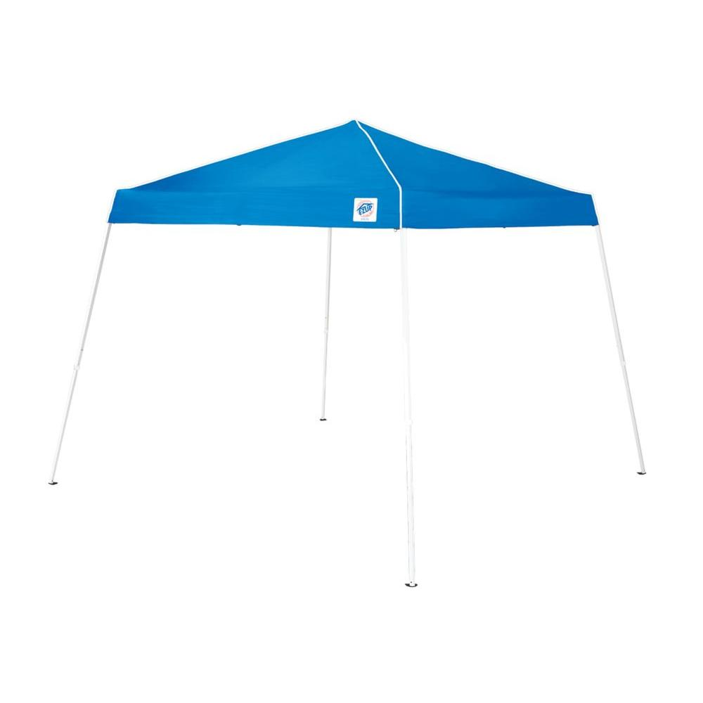 E-Z UP Swift 12 ft. x 12 ft. Royal Blue Slant Leg Instant Shelter Canopy