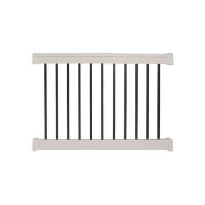 Vilano 3 ft. H x  4 ft.  W Vinyl Tan Railing Kit
