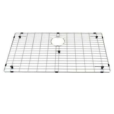 30.75 in. x 17.75 in. Kitchen Sink Bottom Grid