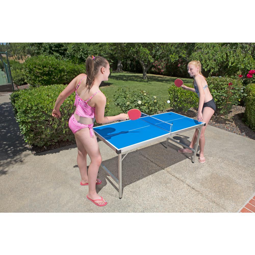 Poolmaster Outdoor Jr. Table Tennis Game by Poolmaster