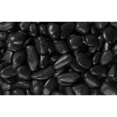 0.25 cu. ft. 0.5 in. to 1.5 in. 20 lbs. Black Grade A Polished Pebbles (54-Pack Pallet)