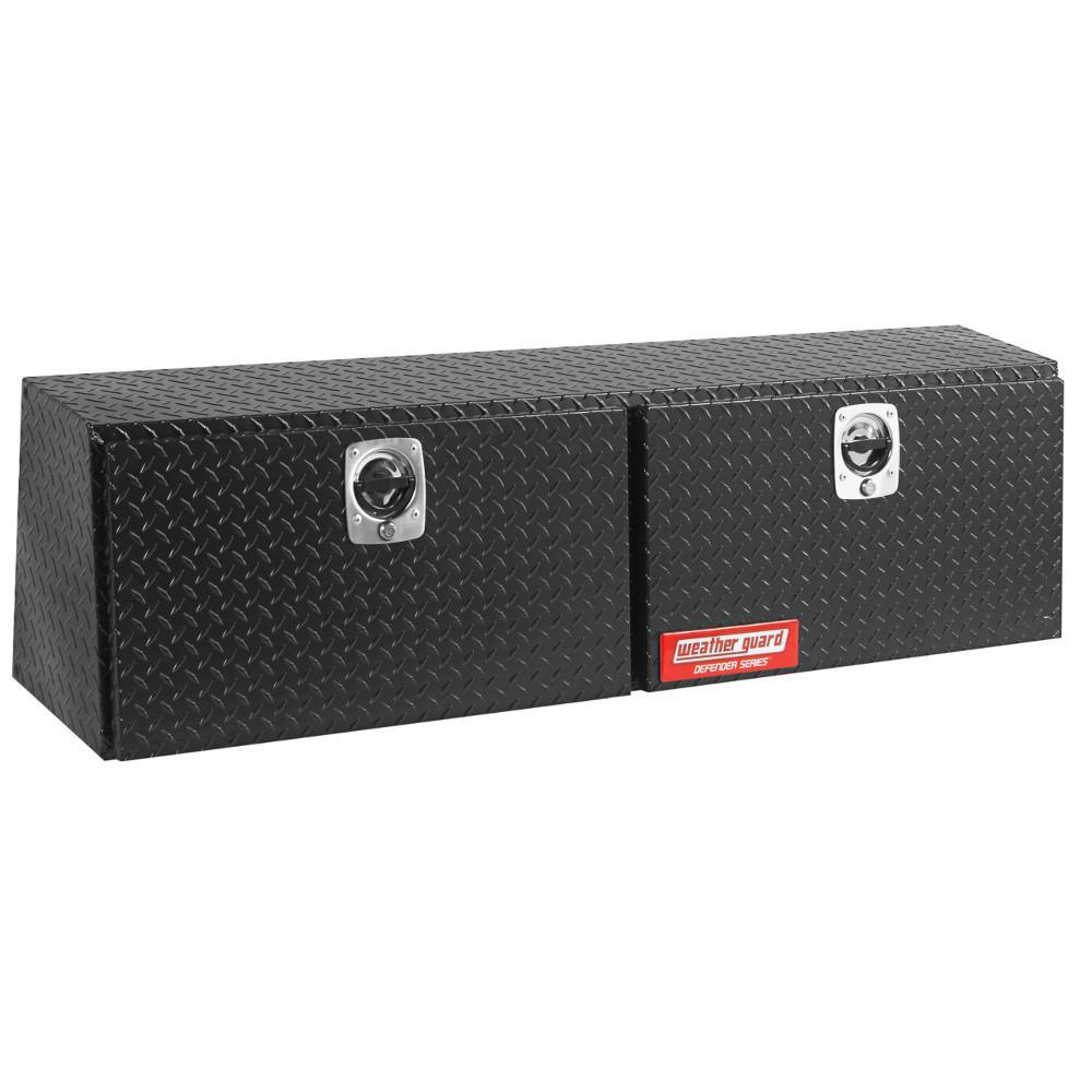 Defender Matte Black Aluminum Hi-Side Truck Box (60 in. x 13 in. x 16 in.)