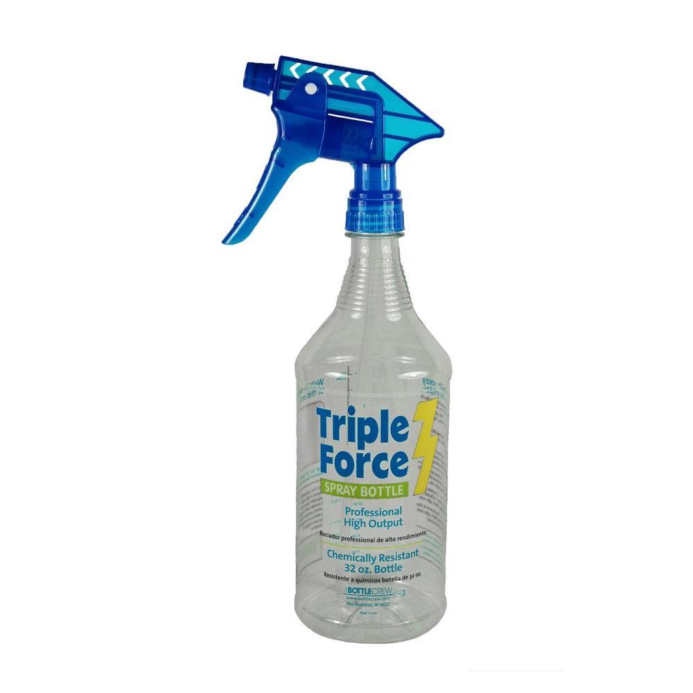 df3b45fdad42 The Bottle Crew 32 oz. Triple Force Spray Bottle (12-Pack)