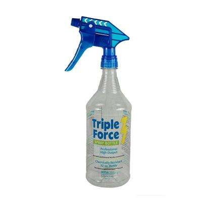 32 oz. Triple Force Spray Bottle (12-Pack)
