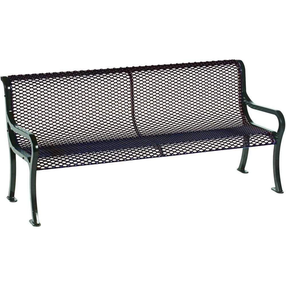 Tradewinds Symphony 6 ft. Brown Commercial Bench