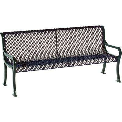 Symphony 6 ft. Brown Commercial Bench