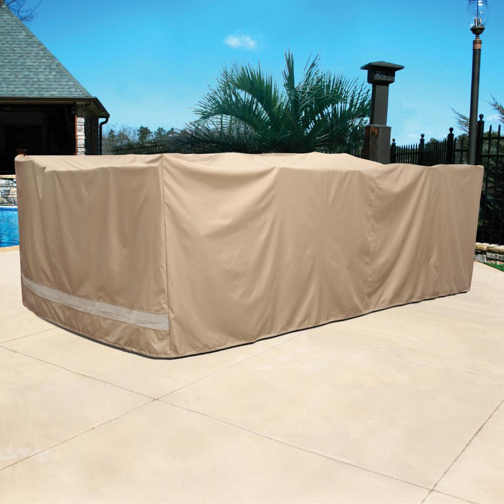 Patio Armor Ripstop Chat Set Patio Cover Sf46614 The Home Depot