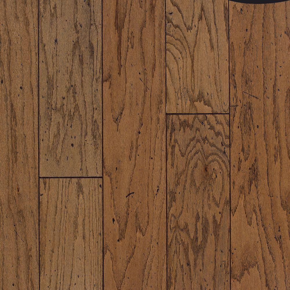 Bruce Cliffton Rustic 3/8 in. Thick x 7 in. Wide x Random Length Antique Oak Engineered Hardwood Flooring (17.5 sq. ft. /case)