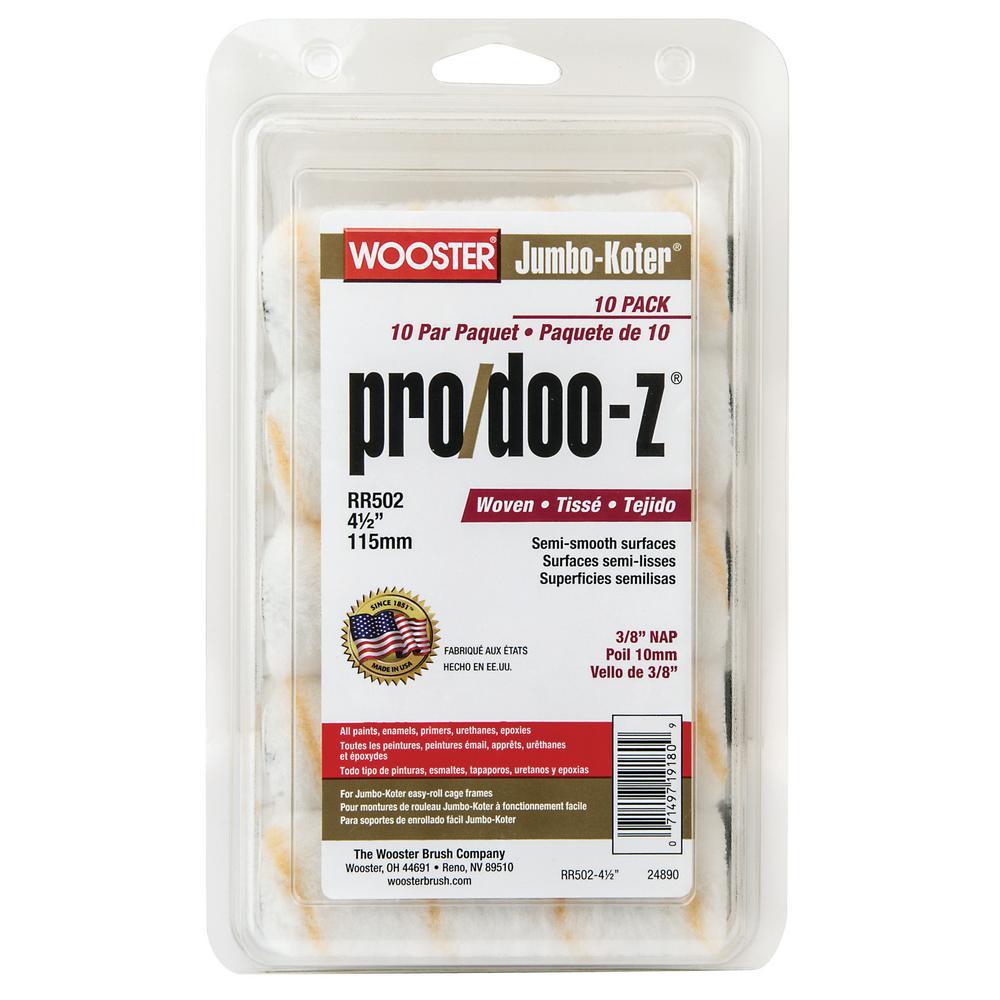4-1/2 in. x 3/8 in. Jumbo-Koter Pro/Doo-Z (10-Pack)