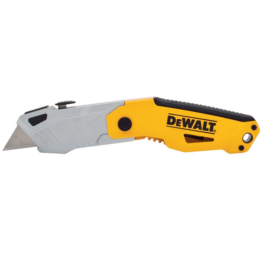DEWALT Auto Load Folding Utility Knife