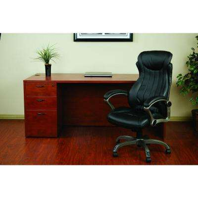 Black Eco Leather Executive Manager Office Chair