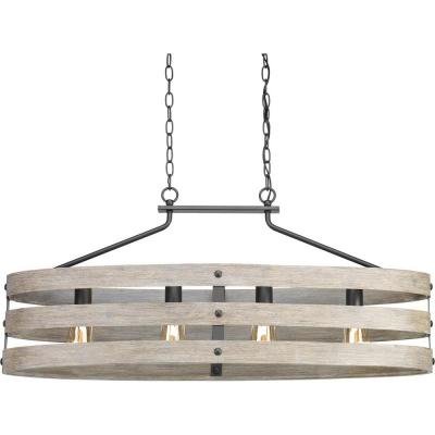 Gulliver Collection Four-Light Linear Chandelier