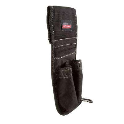 3-Pocket Tool Belt Pouch / Accessory Holder, Black
