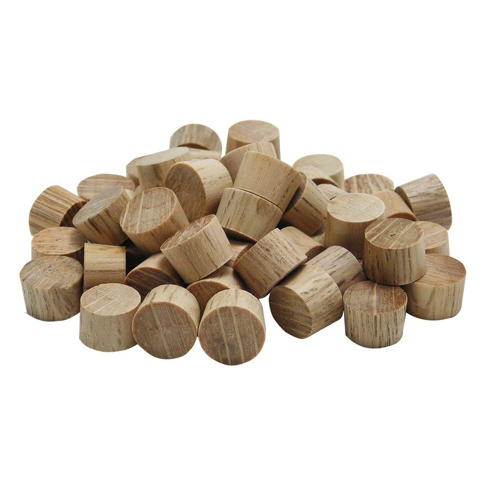 Flat Head Oak Plugs