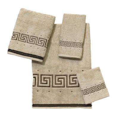Premier Athena 4-Piece Bath Towel Set in Linen