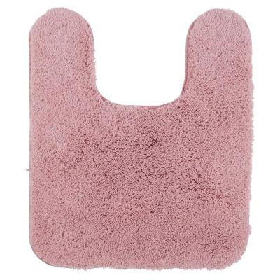 Pure Perfection Rose 20 in. x 24 in. Nylon Machine Washable Bath Mat