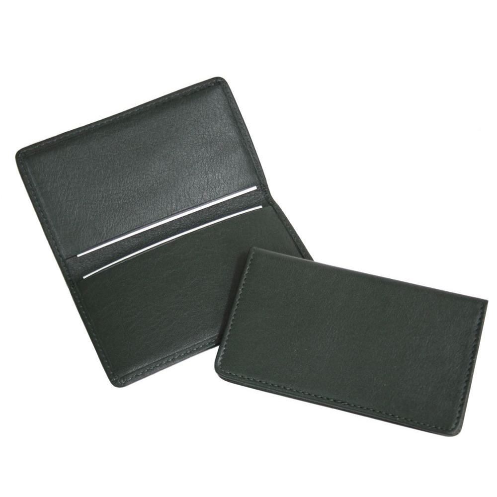 Royce green business card case in genuine leather 401 green 5 the royce green business card case in genuine leather colourmoves