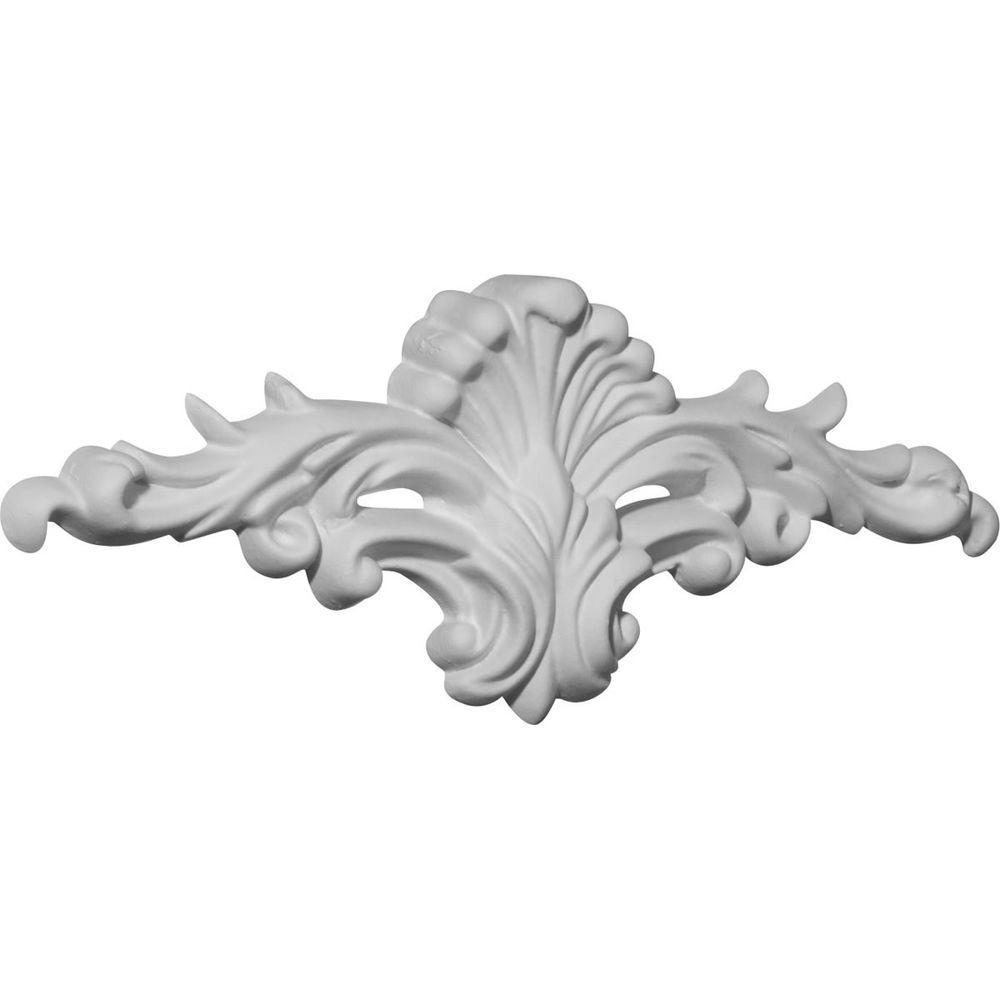 3/4 in. x 7-3/4 in. x 3-1/8 in. Polyurethane Ashford Onlay Moulding
