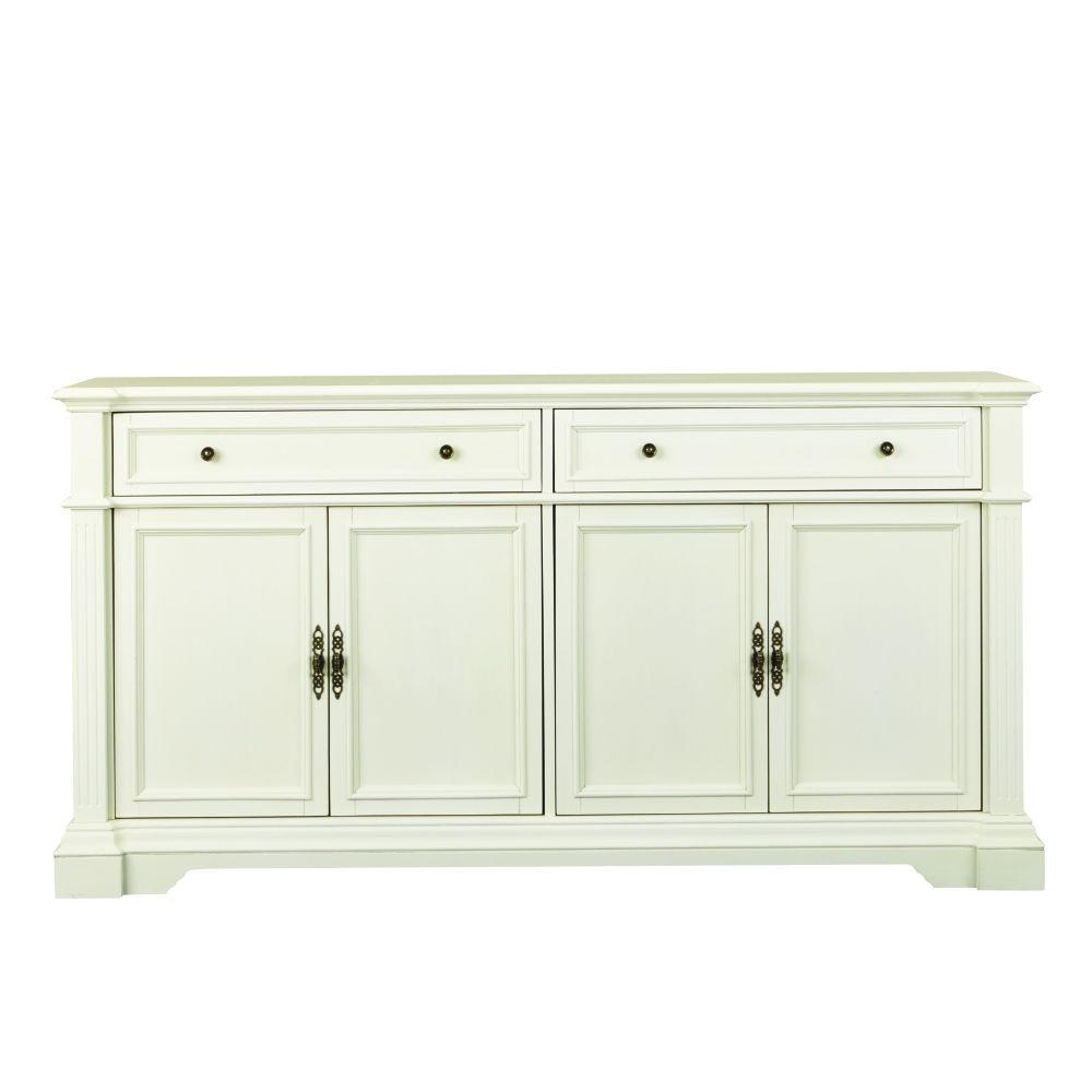 Home Decorators Collection Bufford Antique Ivory Buffet