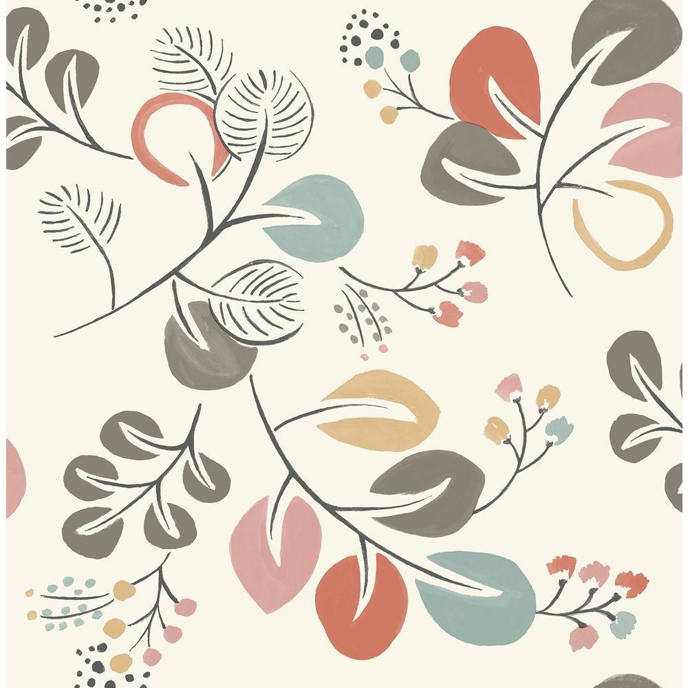 Astrilde Multi-Colored Wallpaper Sample