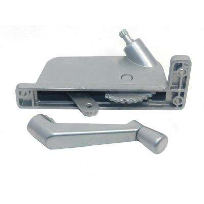 2-5/16 in. Silver Right-Hand Awning Window Operator for Security Window