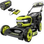 21 in. 40-Volt Lithium-Ion Brushless Cordless Walk Behind Self-Propelled Mower with 7.5 Ah Battery/Charger Included