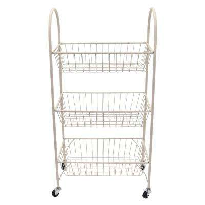11.75 in. x 20 in. Storage Rack in White