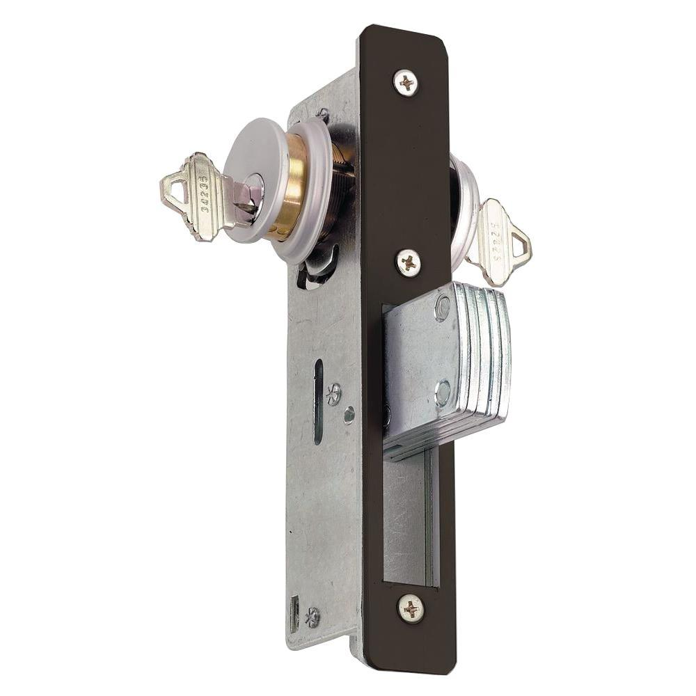 Global Door Controls 1-1/8 in. Mortise Lock Body with Deadbolt Function in Duronotic