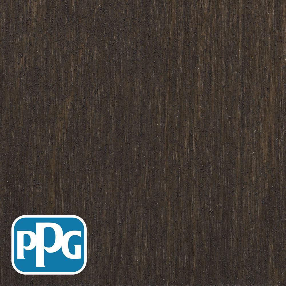 1 gal. TSN-14 Oxford Brown Satin Semi-Transparent Advanced Oil Exterior Wood Stain