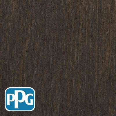 1 gal. TSN-14 Oxford Brown Satin Semi-Transparent Advanced Oil Exterior Wood Stain